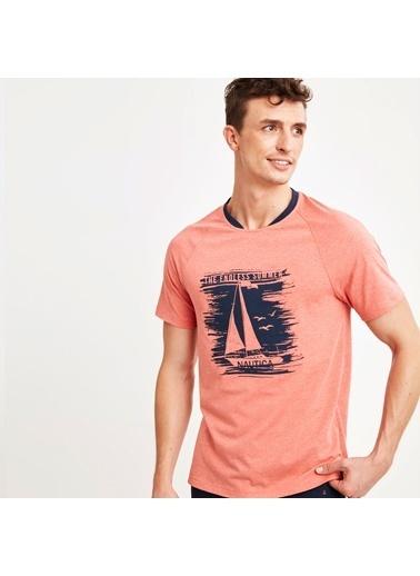 Nautica M124PJTK.PEM Nautıca Erkek Pembe Pijama Takımı Pembe